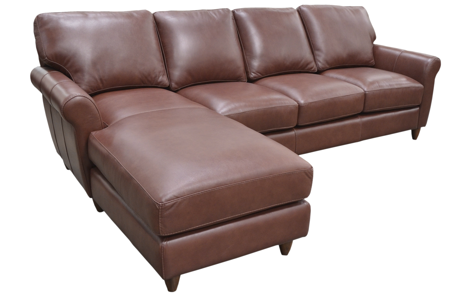 Cameo chaise sectional arizona leather interiors for Arizona leather sectional sofa with chaise