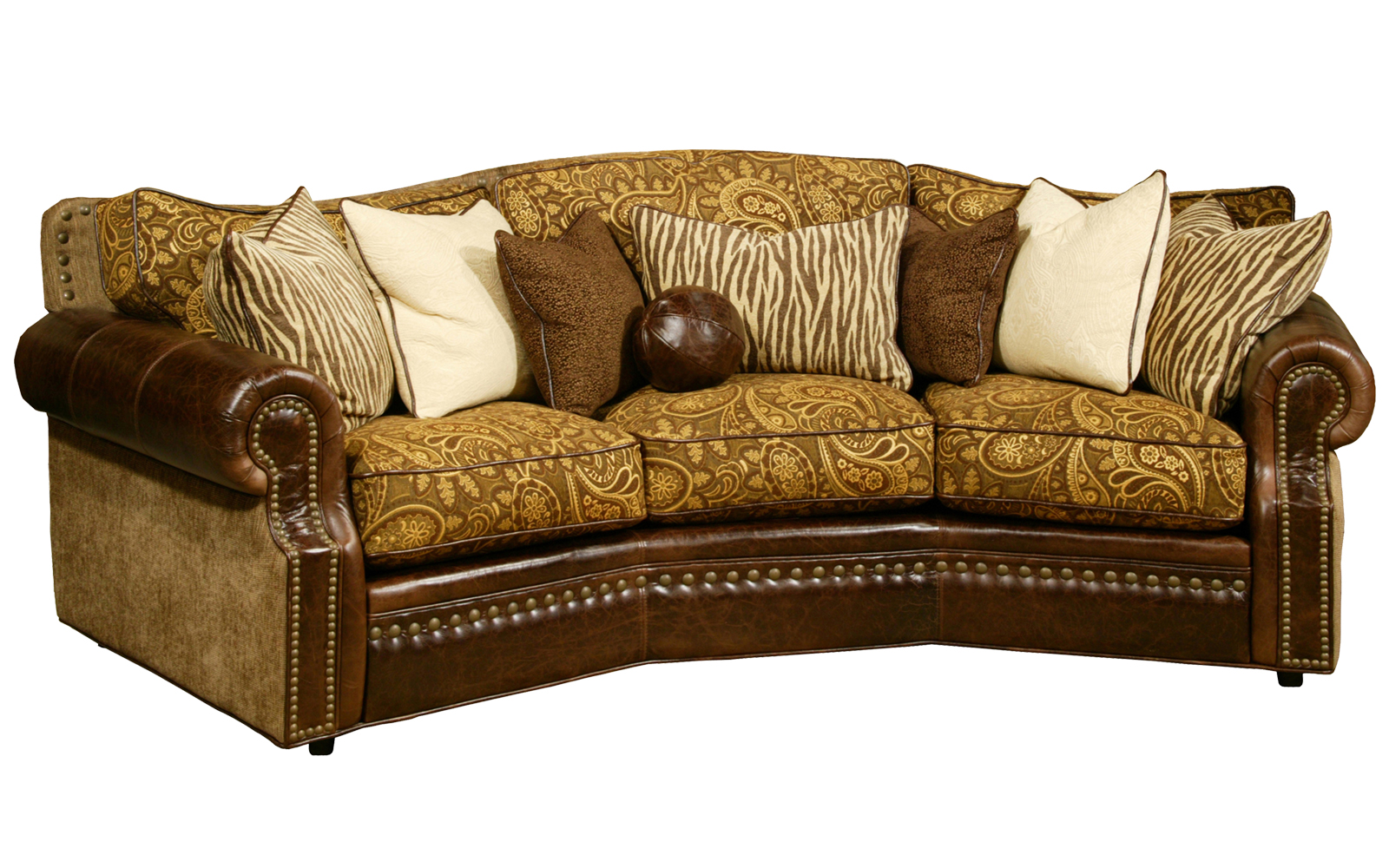 Cartwright conversation sofa arizona leather interiors for Conversation sofa